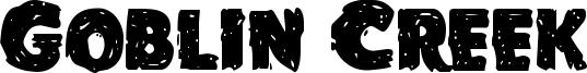 Goblin Creek Font