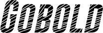 Gobold CUTS Italic.otf