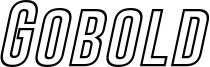 Gobold Hollow Bold Italic.otf