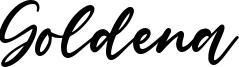 Goldena Font