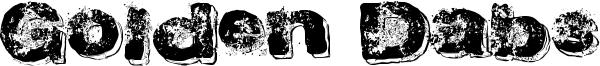 Golden Dabs Font