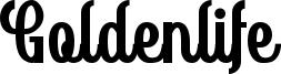 Goldenlife Font