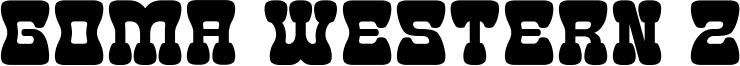 Goma Western 2 Font