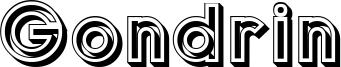 Gondrin Font