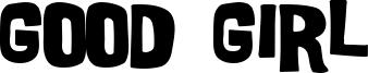 Good Girl Font