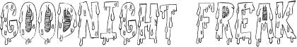 Goodnight Freak Font
