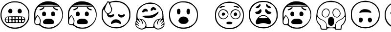 Google Emojis Font