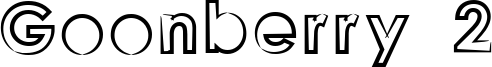 Goonberry 2 Font