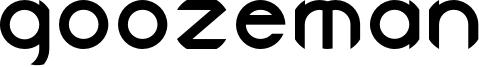 Goozeman Font