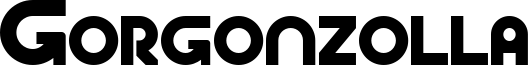 Gorgonzolla Font