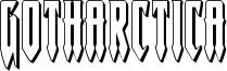 gotharctica3d.ttf