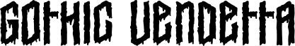 Gothic Vendetta Font