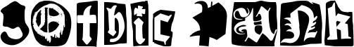Gothic Punk Font