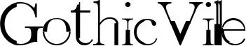 GothicVille Font