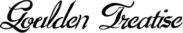 Goulden Treatise Font