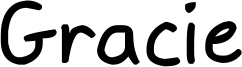 Gracie Font