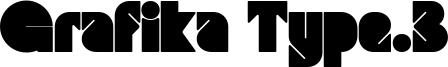 Grafika Type.3 Font