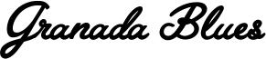 Granada Blues Font