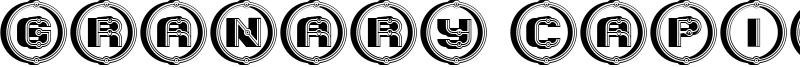 Granary Capitals Font