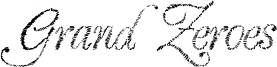 Grand Zeroes Font
