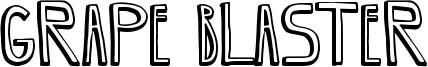 Grape Blaster Font