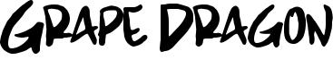 Grape Dragon Font