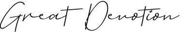 Great Devotion Font