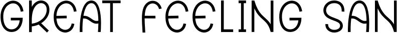 Great Feeling Sans Font