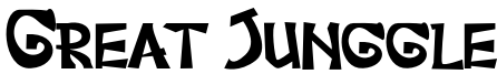 Great Junggle Font