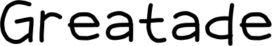 Greatade Font
