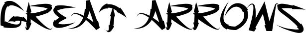 Great Arrows Font
