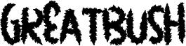 GreatBush Font