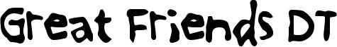 Great Friends DT Font