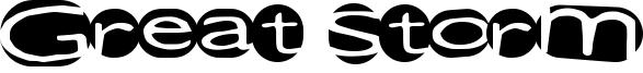 Great Storm Font