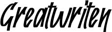 Greatwriten Font