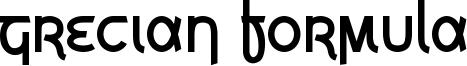 Grecian Formula Font
