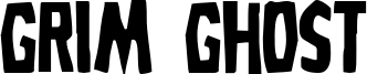 Grim Ghost Font