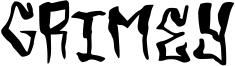 Grimey Font