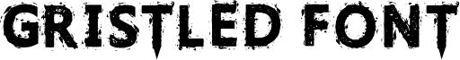 Gristled Font Font