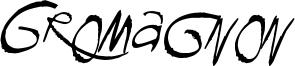 Gromagnon Font