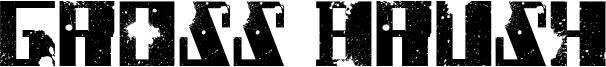 Gross Brush Font