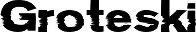 Groteski Font