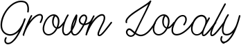 Grown Localy Font