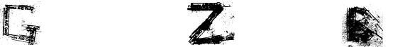 Grunge Zinda Bad Font