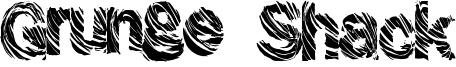 Grunge Shack Font