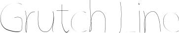Grutch Line Font