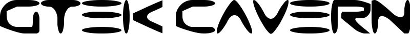 Gtek Caverna Font