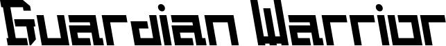 Guardian Warrior Font