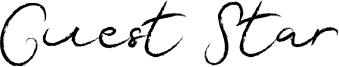 Guest Star Font