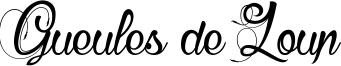Gueules de Loup Font